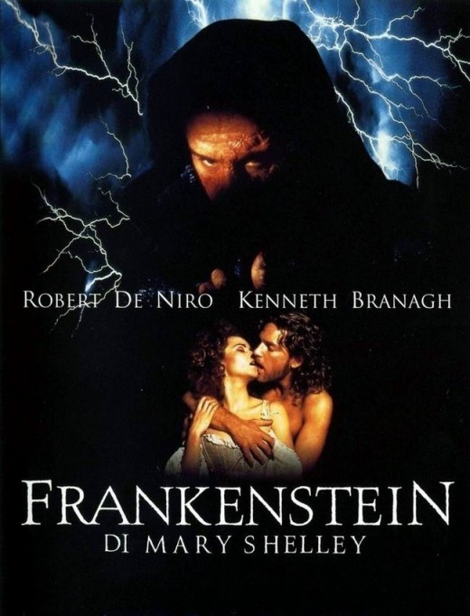 Mary Shelley's Frankenstein (1994) Italian poster