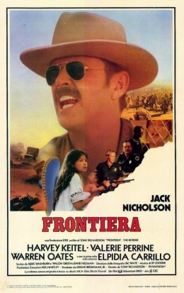 The Border (1982) Italian poster