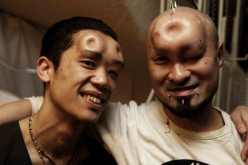 Would you ever want to try being a bagel head?