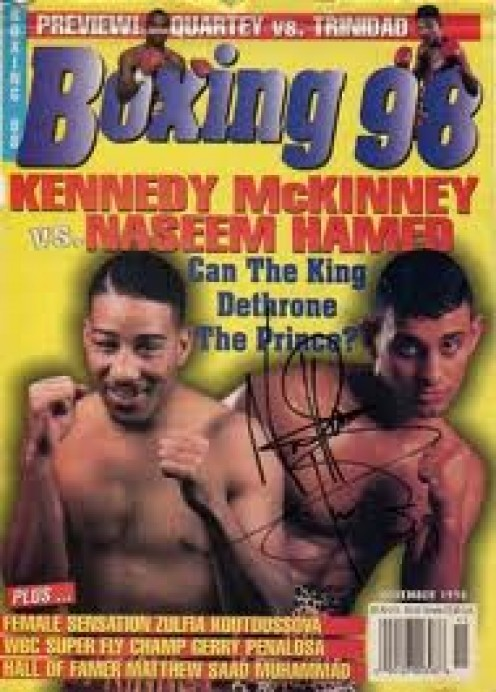 """""""The Prince"""" Naseem Hamed was a charismatic and cocky fighter but he had a knockout punch."""