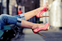 Nicole's collection means that women with big feet can wear fashionabale and stylish shoes PH