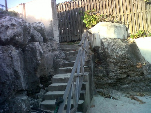 Stairway to the Basin