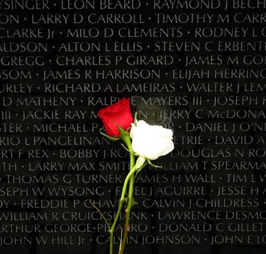 Names of the Vietnam War's fallen heroes