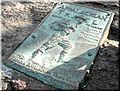 The Bronze Plaque at the Summit of Springer Mountain
