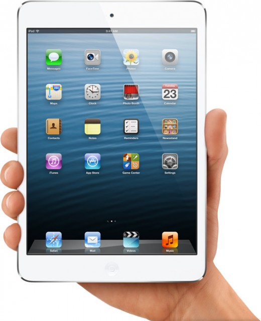 iPad Mini - the first small tablet from Apple