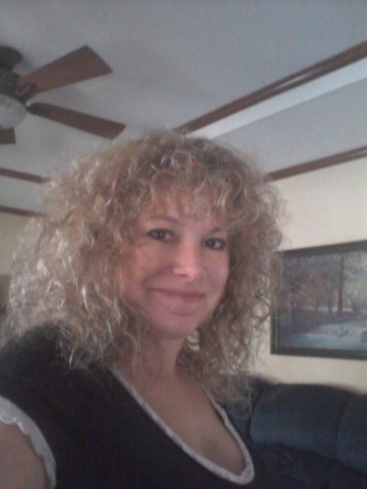(myself) Brenda Green after foil highlights on 11/9/12
