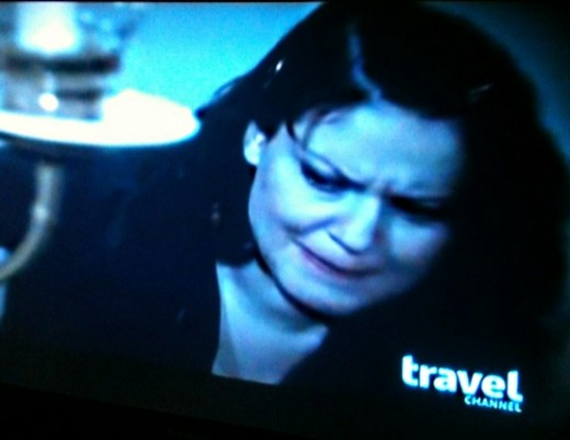 Facial Expressions Amy Makes during Lizzy Borden House walk through