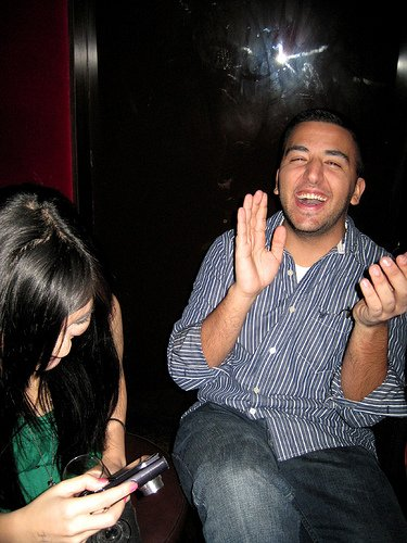 Laughter sends healing chemicals throughout the body.