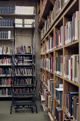 The library is a great place to find good books to help you train yourself to read with consistency.