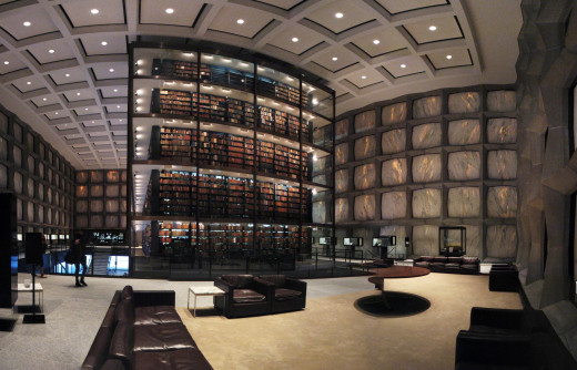 With a huge selection like the one in Yale University's Beinecke Rare Book and Manuscript Library, it can be difficult not to come up with a book list to help you read with consistency.