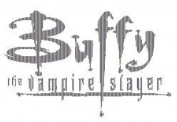 Buffy the Vampire Slayer in ASCII Text Art