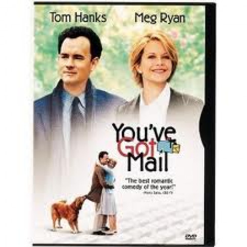 You've Got Mail stars Tom Hanks and Meg Ryan. The film is a comedy with a little bit of romance thrown in for good measure.