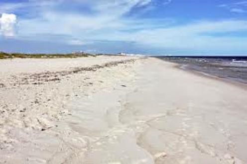 Sandy Beaches are found in Gulf Shores and Orange Beach, Alabama.