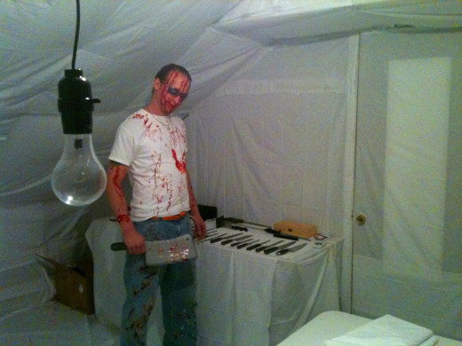 Zombie guts can be messy and possibly contagious