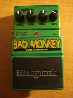 DigiTech Bad Monkey Tube Overdrive Pedal Insight & Review