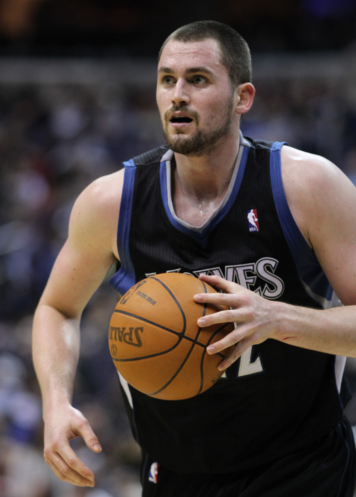 Minnesota Timberwolves' Kevin one of the toughest forwards in the NBA today