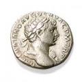 Denarius depicting Trajan