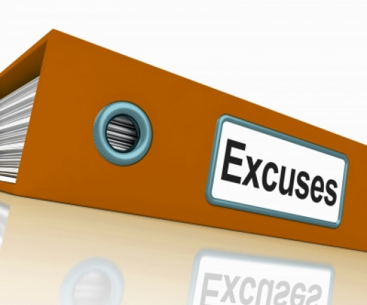 File With Excuses Word