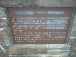 Historical plaque, Glen Erin Hall Gatehouse, Erindale, Mississauga