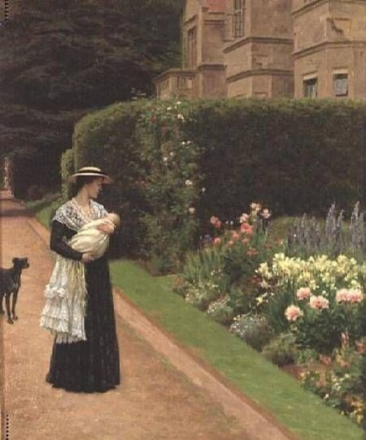 The Lord of the Manor, by Edmund Blair Leighton (1853-1922)