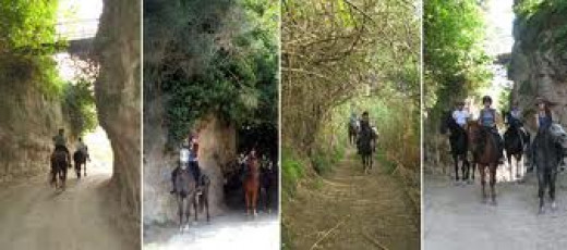 Old Etruscan Roads and trails