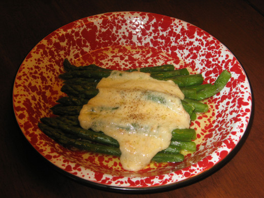 Asparagus is low in carbs.