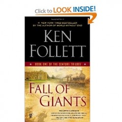 "Ken Follett's book ""Fall of Giants"""