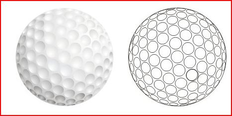The dimples of the ball are essential. Discovered by accidental wear, the notches proved to be invaluable.