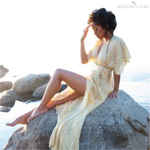 Boho Wrap Dress
