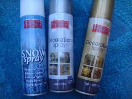 Decorative festive spray