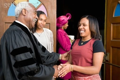friendly pastor