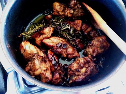 Pollo Alla Cacciatore (Chicken Cacciatore)