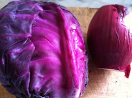 Red Cabbage and Beetroot