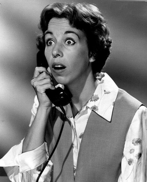 Carol Burnett, early in her career.