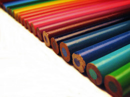 Color Pencils are handy when editing to make marks as you proofread.
