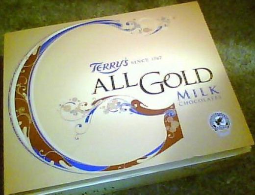 Terry's All Gold milk chocolates, Terry's are better known for their All Gold dark chocolates