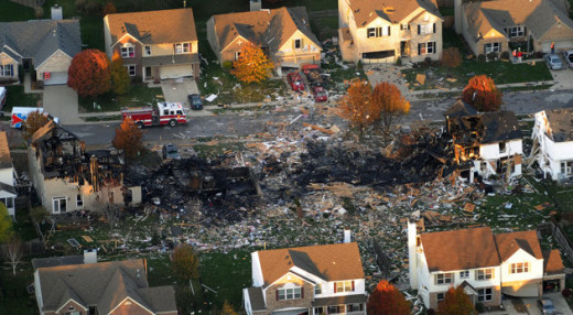 This was probable a natural gas explosion but was it linked to the Kentucky earthquake?