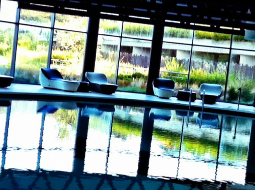 Luxurious pool at Argentario SPA Fitness Center