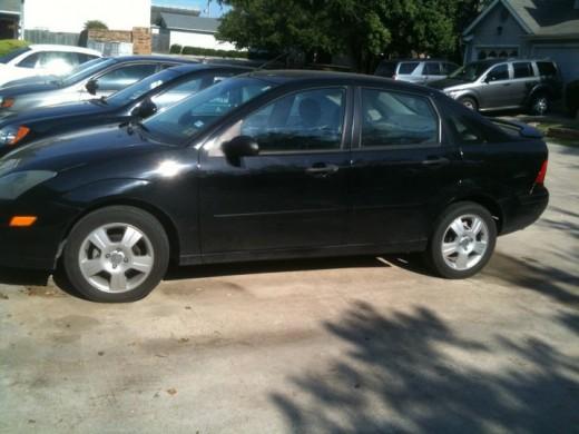 Black Car Before
