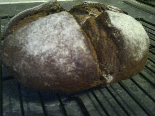 Beautiful Dark Loaf