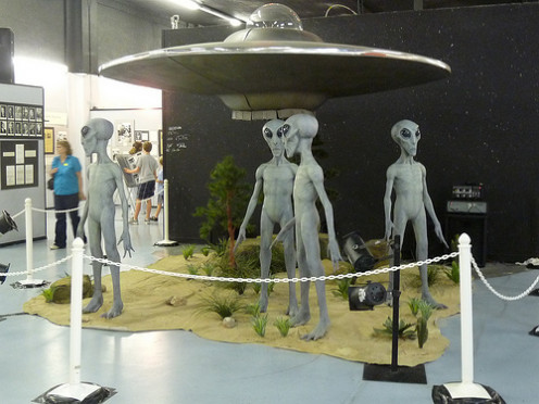 Roswell International UFO Museum and Research Center.