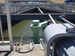 Canals from the State Water Project carry water from the San Francisco Bay Delta to Southern California.