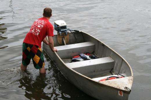Flat Bottom John Boat