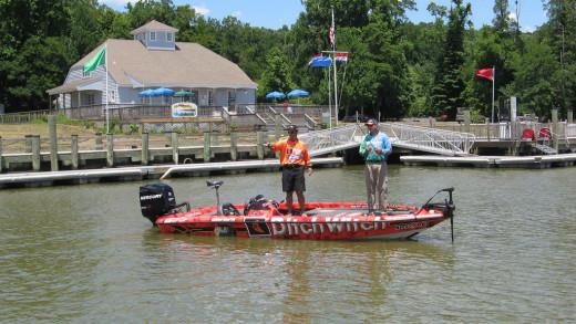Fishing Bass Boat