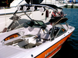 a Ski and Wakeboard Boat