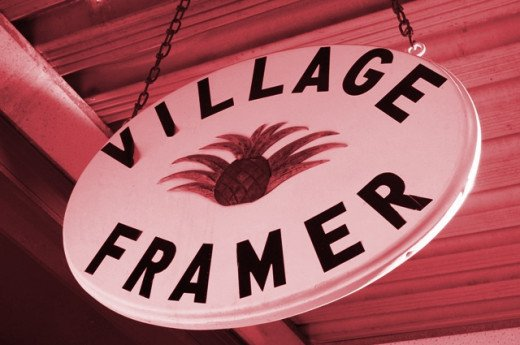 The Village Framer in downtown Waynesville, NC