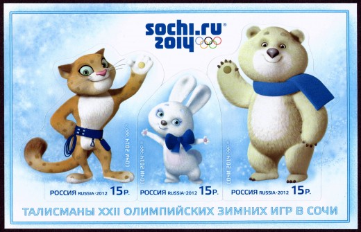The Mascot of the Winter Games at Sochi