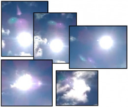 These images are from Wales and clearly show other planet's close to our Sun.