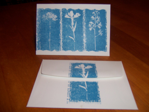 an example of the papercrafting, rubberstamping I do using Stampin Up products.