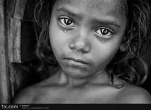 The face of poverty